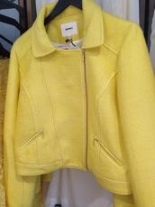 jacket,yellow,koton