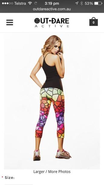 pants multi colour