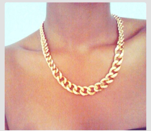 jewels gold chain necklace jewelry