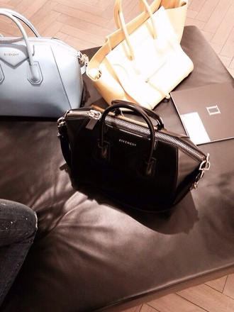 bag givenchy givenchy bag purse black bag yellow bag yellow blue bag cool amazing dope soft grunge grunge girly grunge
