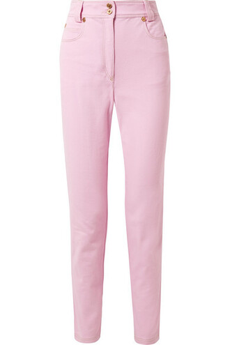 jeans high pink