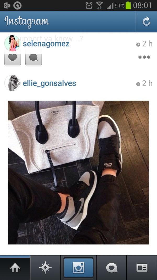 bag grey celine celine bag shoes