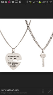 jewels,necklace,keyhole,heart,quote on it,silver,couples necklaces,cute,lovely,chain,key,teenagers,funny,couple,love,valentines day,love quotes