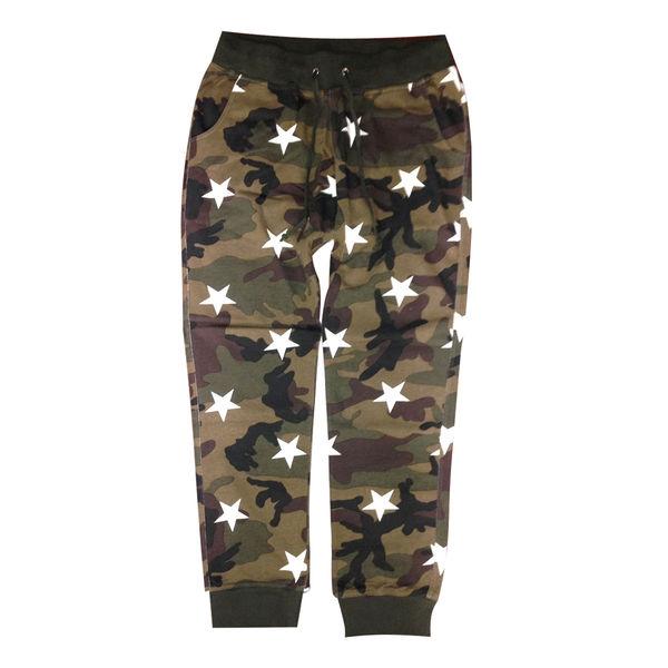 Camo Stars Pants (Grn)
