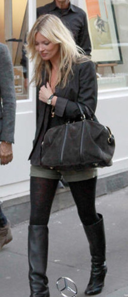 kate moss black bag bag shoes