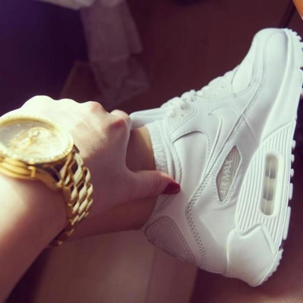 shoes white nike air max tick trainers nike running shoes nike shoes air max nike air nike air max 90 sneakers