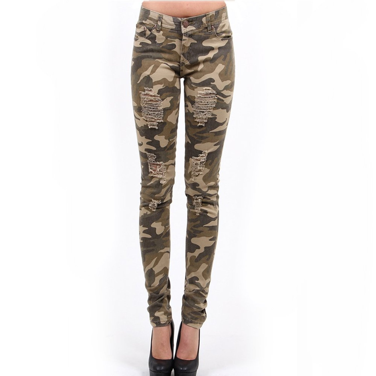 Unique Women S Camo Pants Pictures To Pin On Pinterest