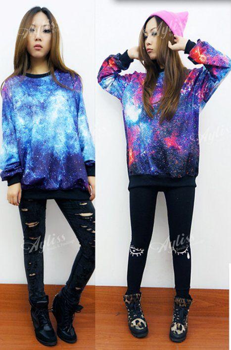 Ehepaar Hoodies Stern Universum Sweatshirts Damen Herren Jacke Pullover Shirt | eBay