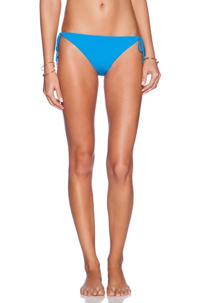 Shoshanna bikini string bikini blue