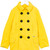 Dsquared2 Kids classic peacoat, Girl's, Size: 12 yrs, Yellow/Orange