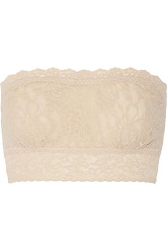 bra soft lace neutral underwear