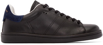 sneakers leather black black leather shoes