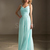 Buy Exquisite Light Sky Blue A-line Straps Floor Length Bridesmaid Dress under 200-SinoAnt.com