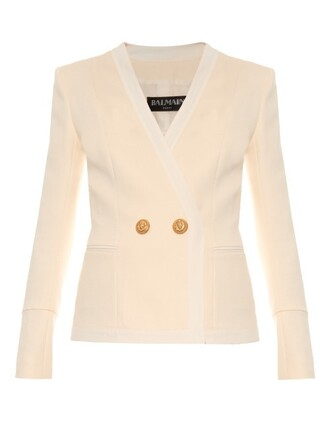 blazer white jacket