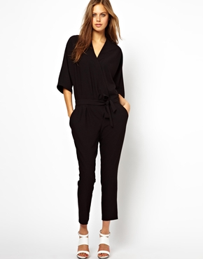 ASOS | ASOS Jumpsuit with Tie Waist at ASOS