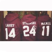 sweater,hoodie,burgundy,jacket,teen wolf,tv,stiles stilinski,scott mccall,isaac lahey,sweatshirt,stilinsk,lahey,mccall