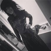 top,claudia winkleman,strictly,black sequin