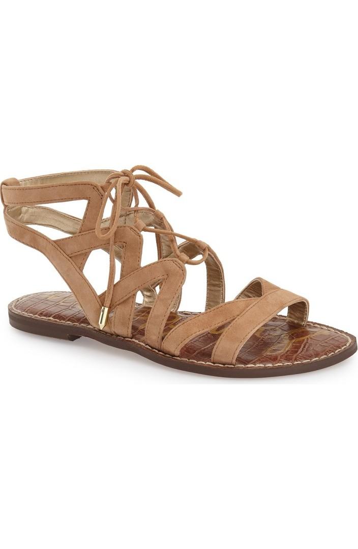 Sam Edelman Gemma Lace-Up Sandal (Women)   Nordstrom