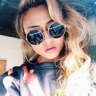 sunglasses style retro sunglasses round sunglasses fashion