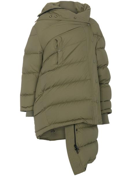 Balenciaga jacket puffer jacket women green