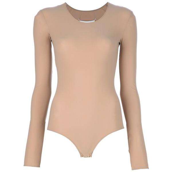 MAISON MARTIN MARGIELA long sleeve bodysuit