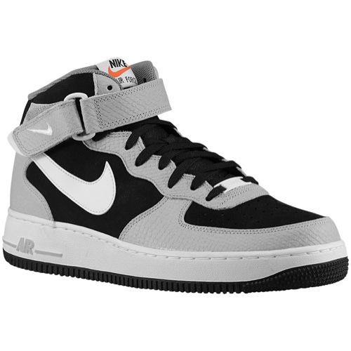 Nike Air Force 1 Mid Black On Feet