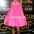 Short A-line Ruching Chic Sweetheart Buckle Celebrity Dress - Promdresshouse.com