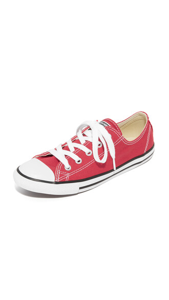 varsity sneakers red shoes