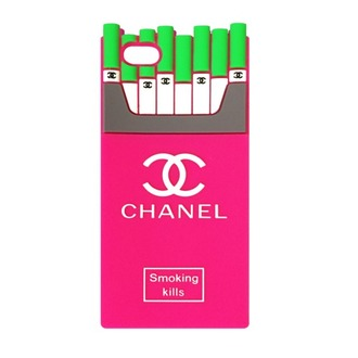 phone cover cc chanel pink smokingkills smoking kilss smoking kills iphone case iphone cover gorgeous green white summer fashion designer design love chanelsmokingkills