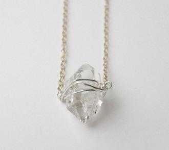 jewels stone moon stone necklace magic rock