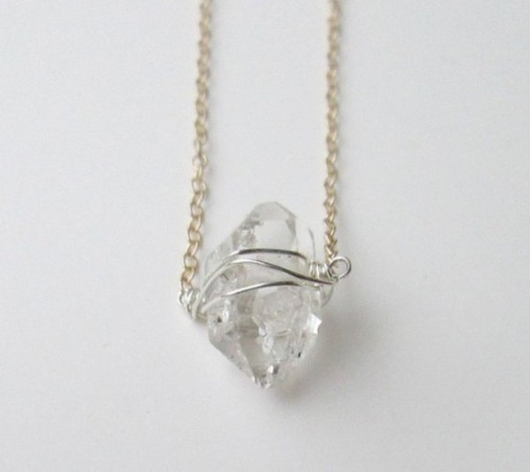 jewels stone necklace moon stone magic rock