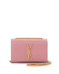 Cassandre Small Crossbody Bag, Pink