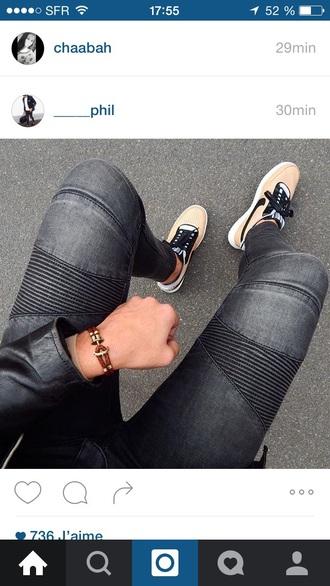 jeans noir menswear black