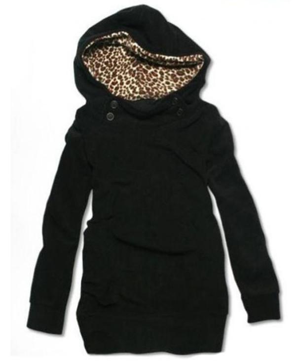 hoodie leopard print leopard print sweater