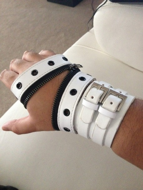 gloves punk harness