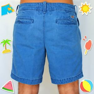 Justvu.com hollister hco men's classic fit at the knee summer shorts size 32