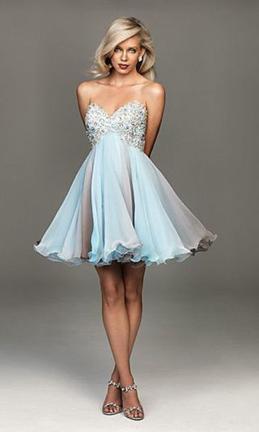 dress blue prom dress homecoming dress