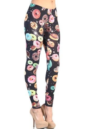 leggings donut cute cool