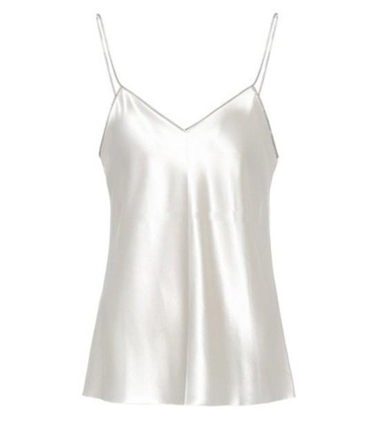 Helmut Lang camisole silk white underwear