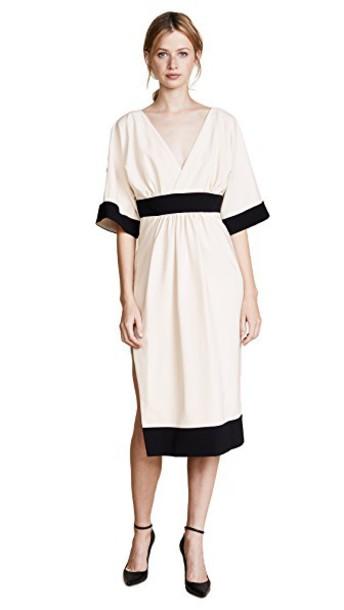 ROSSELLA JARDINI dress white black