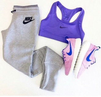 shoes nike pants top
