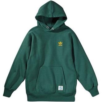 sweater green adidas hoodie yellow cool