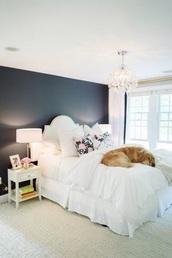 bedroom,white,tumblr bedroom,furniture,home furniture