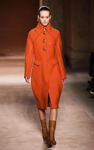 coat fashion fashion week 2015 victoria beckham