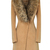 Oversize Faux Fur Collar Slim Coat - OASAP.com