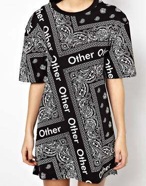 40041e6fe36a Other Uk T-Shirt Dress In Bandana Print at asos.com