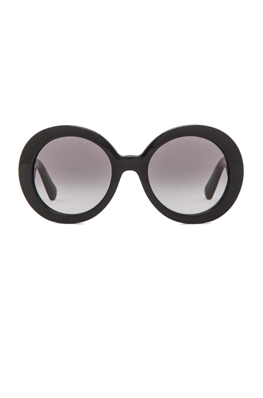 Prada Baroque Sunglasses in Black | FWRD