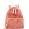 Baby pink mink backpack | moda operandi