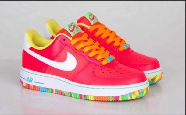 1400b0e9d127ef shoes nike air force 1 fruity pebbles nike air jordan s nike air jordans  jordans nike sneakers