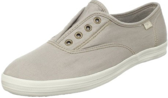 spring summer 2011 shoes keds shoe women laceless slip on slipon slip-on sneakers neutral beach beahcy summer outfits
